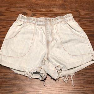 LF Carmar Distressed Jean Short Size S